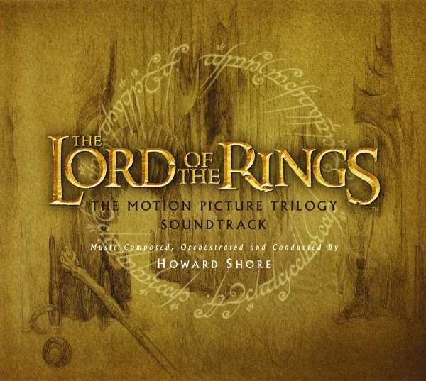 HOWARD SHORE - The Lord Of The Rings (The Motion Picture Trilogy Soundtrack) - Coffret CD