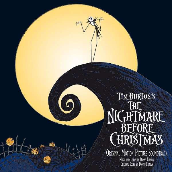 DANNY ELFMAN - Tim Burton's The Nightmare Before Christmas (Original Motion Picture Soundtrack) - CD