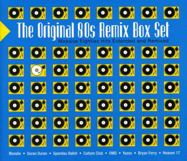VARIOUS - The Original 80s Remix Box Set - CD x 3