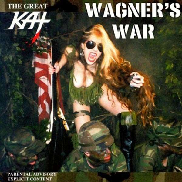 GREAT KAT, THE - Wagner's War - CD