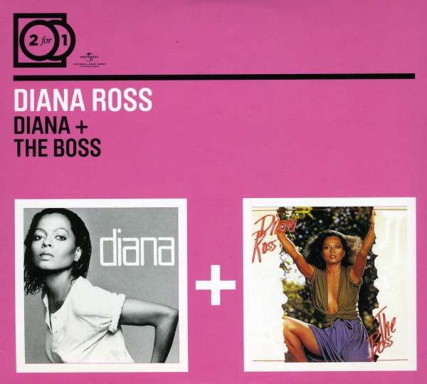 DIANA ROSS - Diana / The Boss - CD x 2
