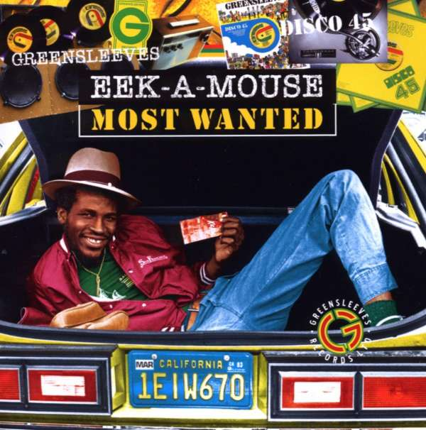 EEK-A-MOUSE - Most Wanted - CD