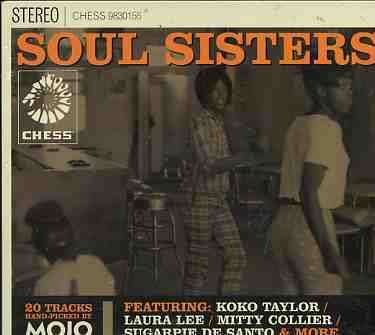VARIOUS - Chess Soul Sisters - CD