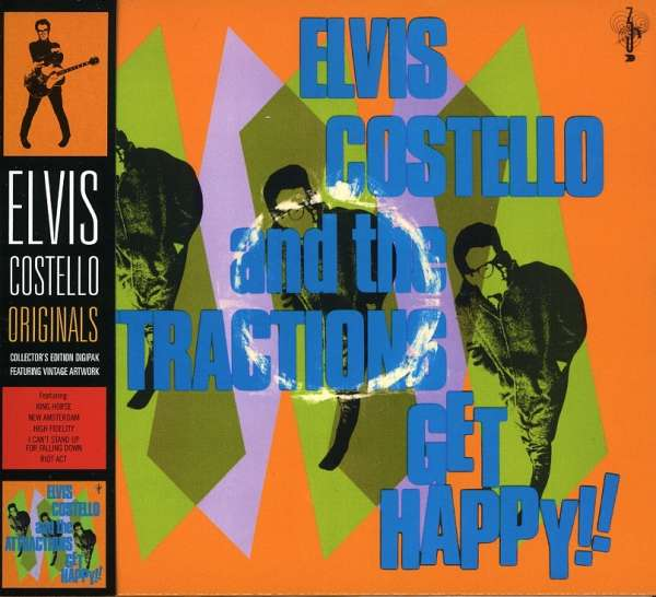 ELVIS COSTELLO AND THE ATTRACTIONS - Get Happy!! - CD