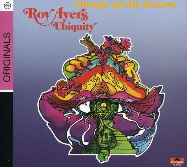 ROY AYERS UBIQUITY - Change Up The Groove - CD