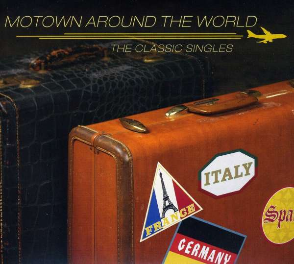 VARIOUS - Motown Around The World : The Classic Singles - CD x 2