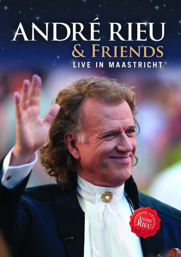 ANDRÉ RIEU & FRIENDS - Live In Maastricht - DVD
