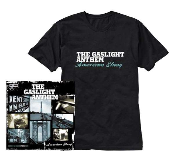 The Gaslight Anthem American Slang Limited Edition Cd