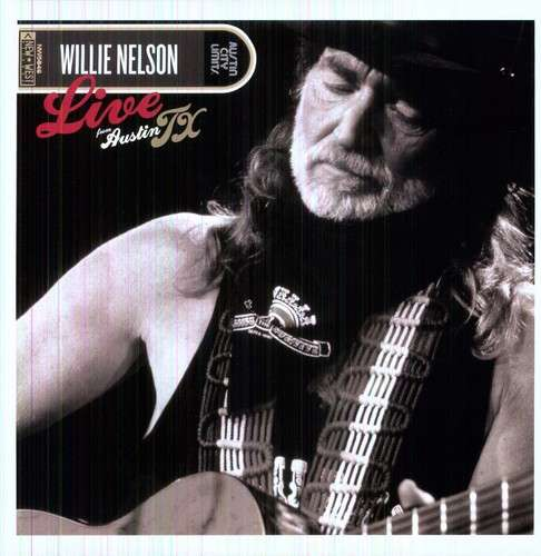 WILLIE NELSON - Live From Austin Texas - LP x 2