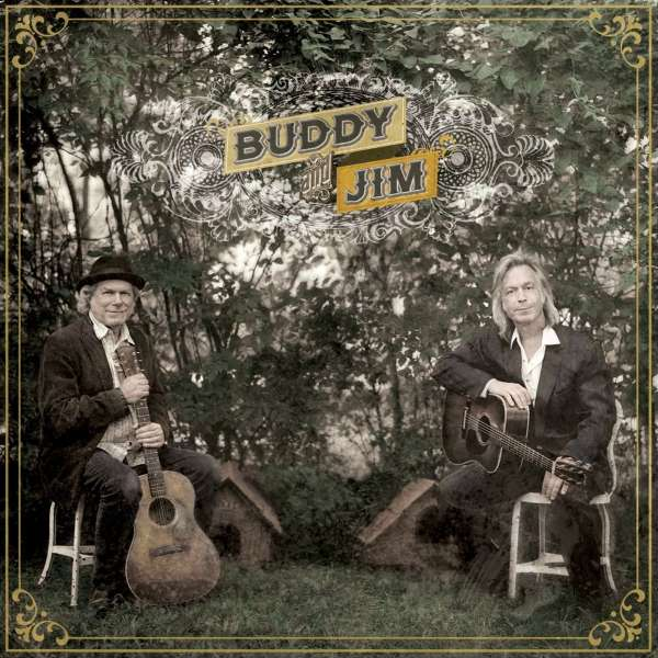 BUDDY MILLER AND JIM LAUDERDALE - Buddy And Jim - LP