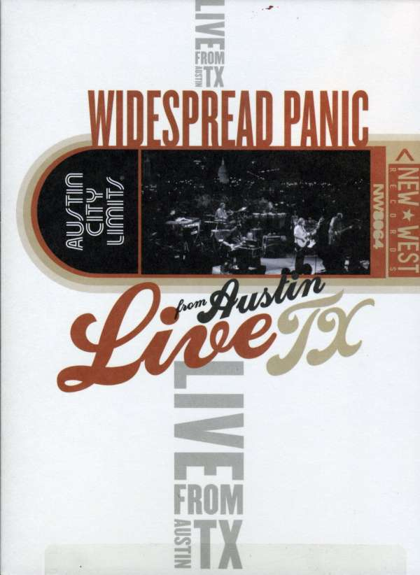 Widespread Panic Live From Austin Tx 31 10 2000 Dvd