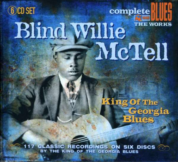 BLIND WILLIE MCTELL - King Of The Georgia Blues - CD Box Set