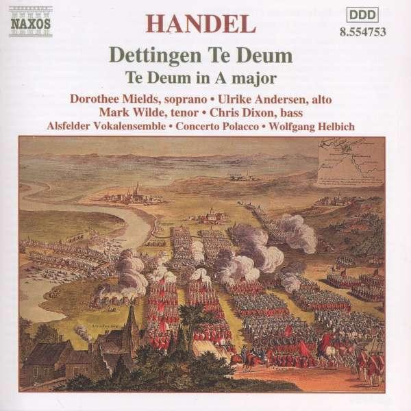 hymnes - Haendel : Te Deum - Hymnes 0636943475324