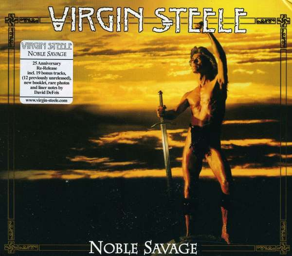 VIRGIN STEELE - Noble Savage - CD x 2
