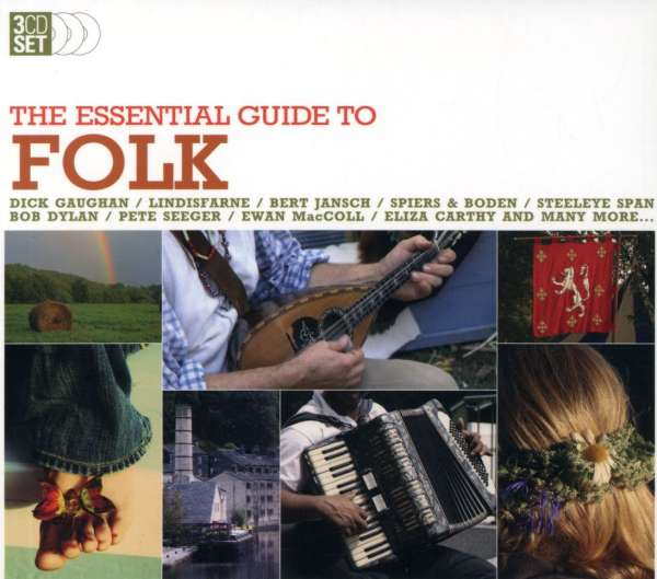 VARIOUS - The Essential Guide To Folk - CD Box Set