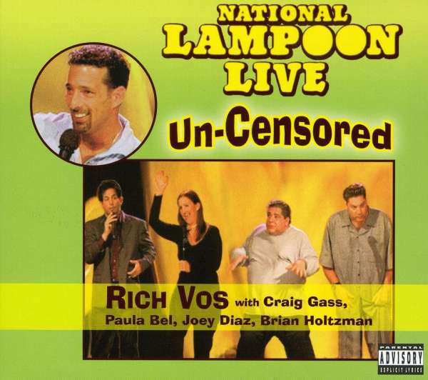 VARIOUS - National Lampoon Live - Un-Censored - CD