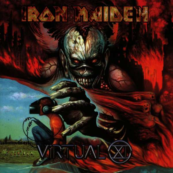IRON MAIDEN - Virtual XI - CD