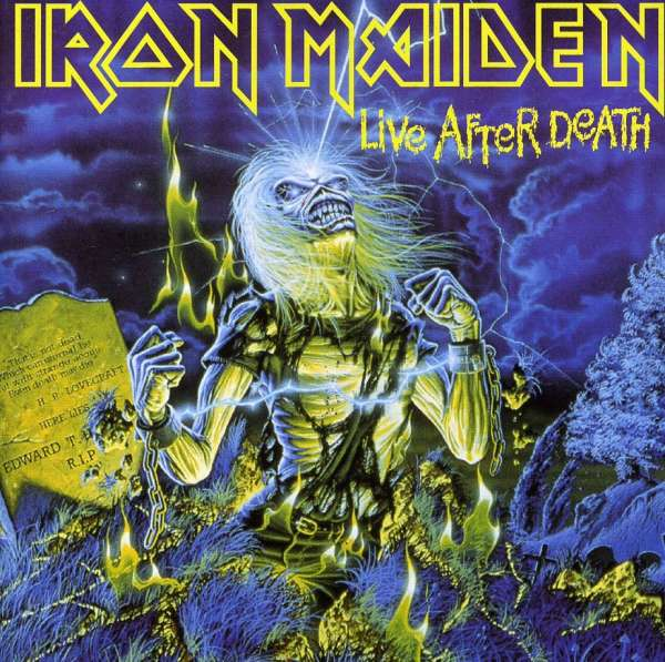 IRON MAIDEN - Live After Death - CD x 2