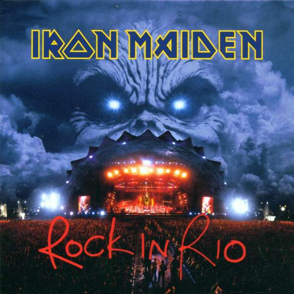 IRON MAIDEN - Rock In Rio - CD x 2