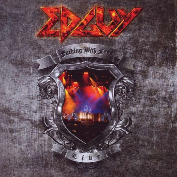EDGUY - Fucking With F*** - Live - CD x 2