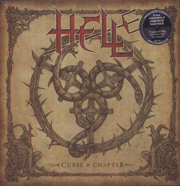 HELL - Curse And Chapter - 33T x 2