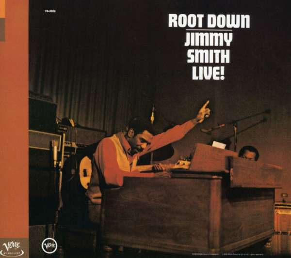 JIMMY SMITH LIVE! - Root Down - CD