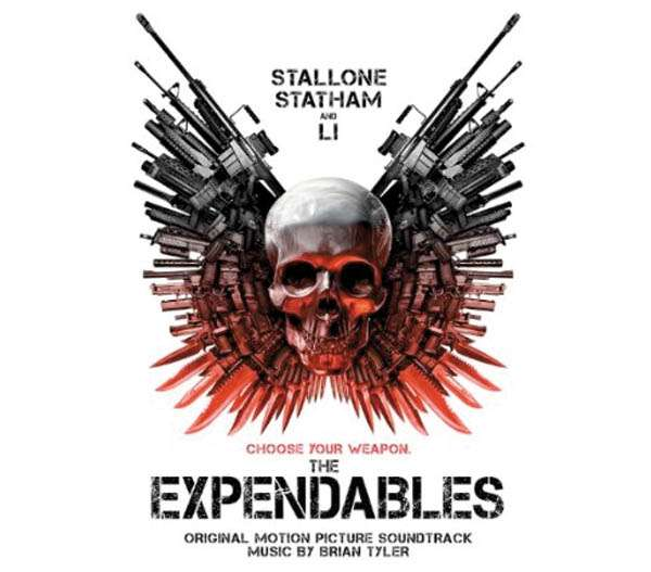 BRIAN TYLER - The Expendables (Original Motion Picture Soundtrack) - CD