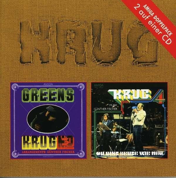 MANFRED KRUG - No. 3: Greens / No. 4: Du Bist Heute Wie Neu - CD