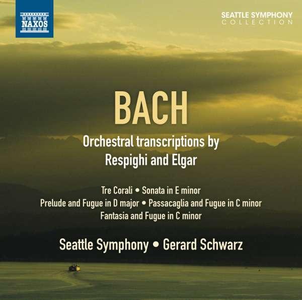 Bach: transcriptions diverses 0747313274178