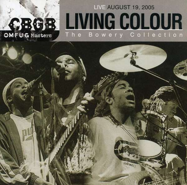 LIVING COLOUR - Live August 19, 2005 - CBGB OMFUG Masters: The Bowery Collection - CD