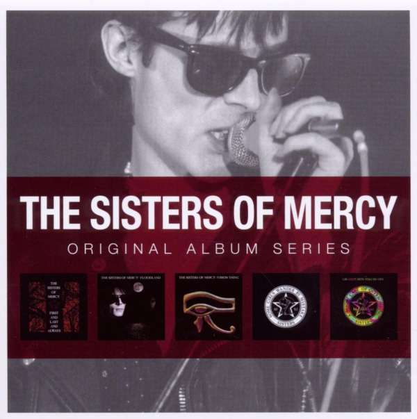 SISTERS OF MERCY, THE - Original Album Series - CD Box Set