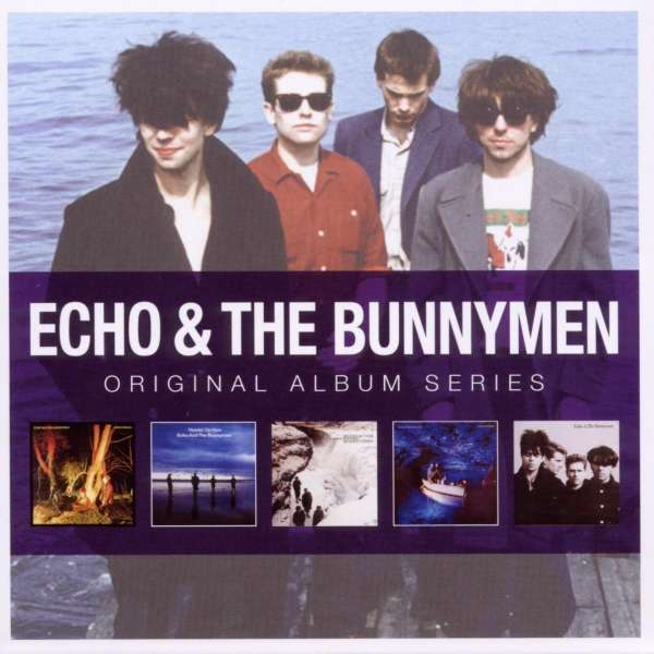 ECHO & THE BUNNYMEN - Original Album Series - CD Box Set