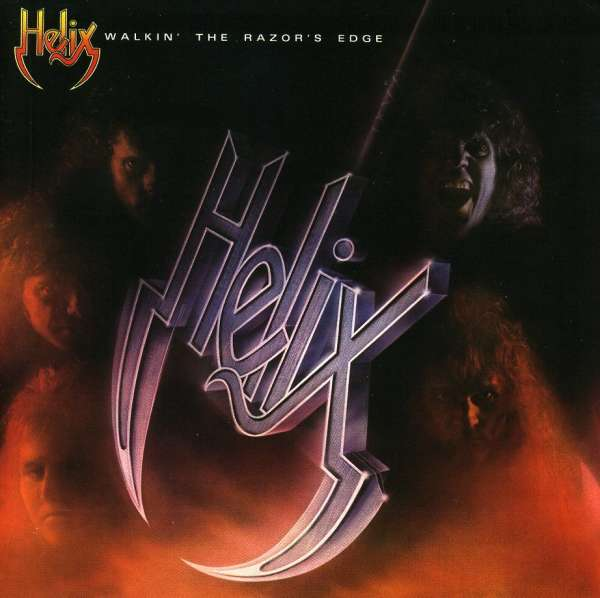 HELIX - Walkin' The Razor's Edge - CD
