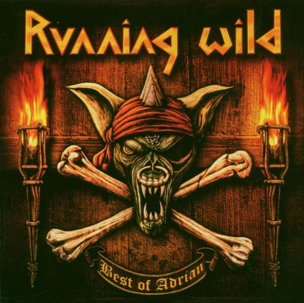 RUNNING WILD - Best Of Adrian - CD