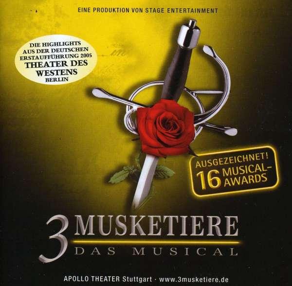 VARIOUS - 3 Musketiere: Berlin Cast - CD