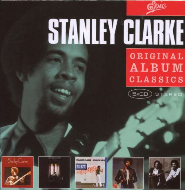 STANLEY CLARKE - Original Album Classics - CD Box Set