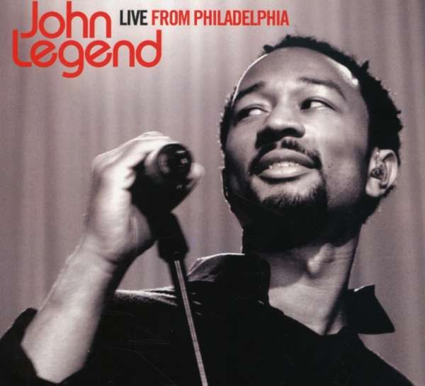 JOHN LEGEND - Live From Philadelphia - DVD + 2CD