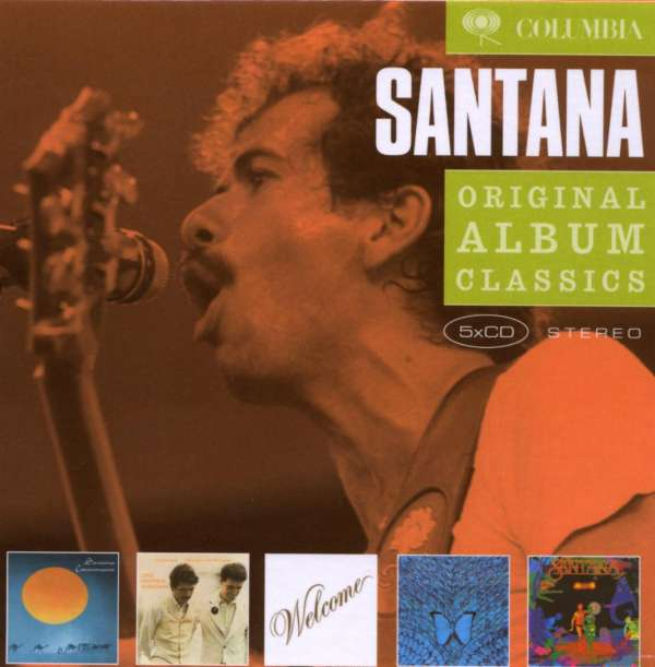SANTANA - Original Album Classics - CD Box Set