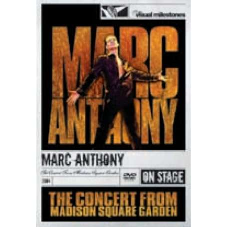 Marc Anthony The Concert From Madison Square Garden 2004 Dvd Jpc