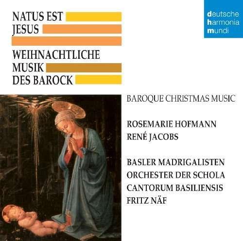 weihnachtliche musik des barock natus est jesus cd jpc. Black Bedroom Furniture Sets. Home Design Ideas