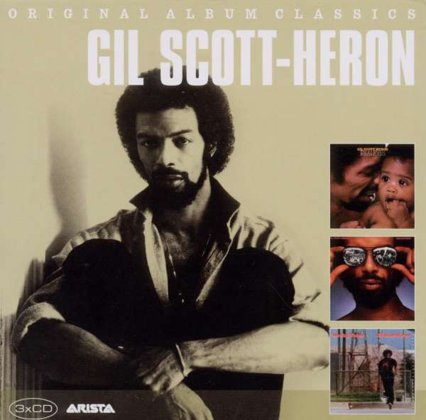GIL SCOTT-HERON - Original Album Classics - CD Box Set
