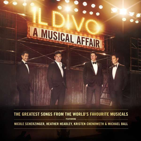 IL DIVO - A Musical Affair - DVD + 2CD