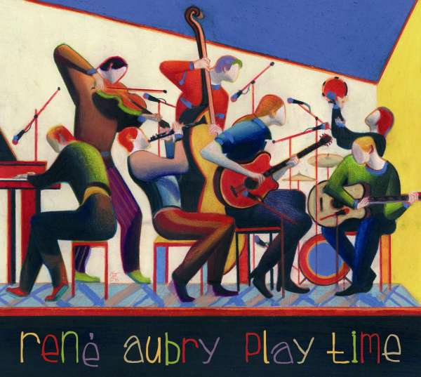 RENÉ AUBRY - Play Time - CD