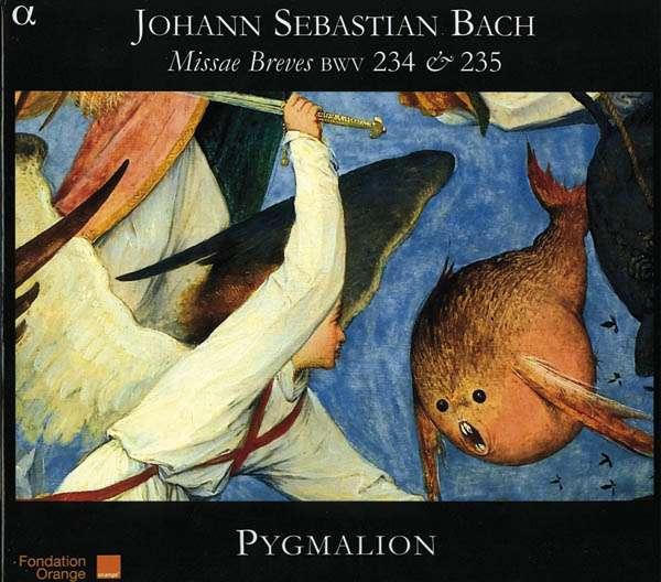 bach - J.S. BACH : les messes brèves 3760014191305