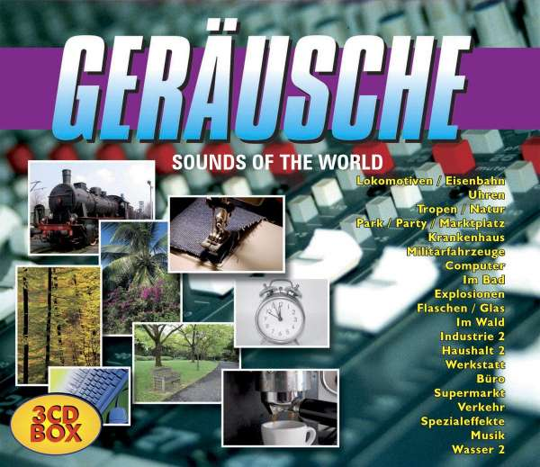 Gerusche - Sounds Of The World (3CD) WAV