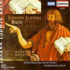 Johann Ludwig BACH (1677 - 1731) 4006408105602