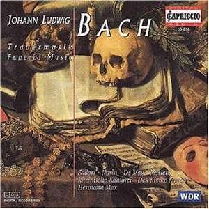 Johann Ludwig BACH (1677 - 1731) 4006408108146