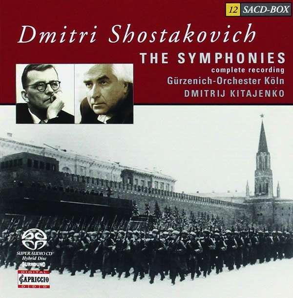 Dimitri Schostakowitsch: Symphonien Nr. 1-15