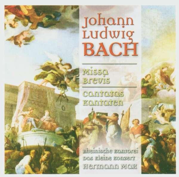 bach - Johann Ludwig BACH (1677 - 1731) 4006408671312