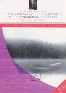 Notenbände mit Bonus-CD  (Capriccio): Bach: Brandenburgische Konzerte Nr. 1-6